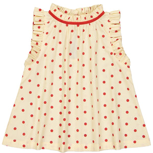 Блуза Mischa Dots Red