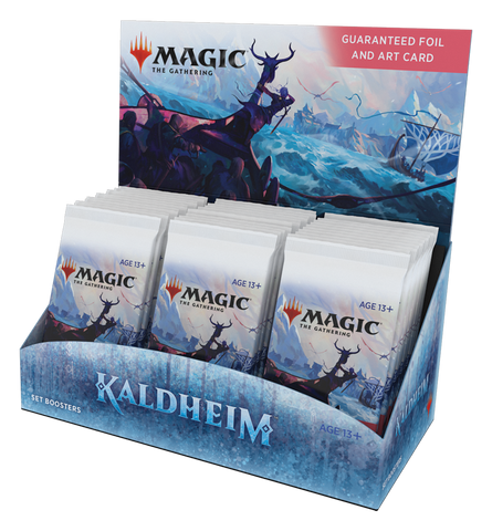 Kaldheim set booster box preorder  (30 booster packs)