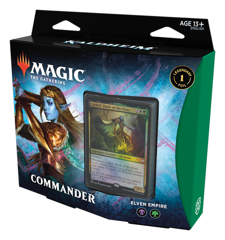 Kaldheim Elven Empire commander deck preorder