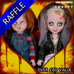 Living Dead Dolls Bride of Chucky Collectible Set - RAFFLE