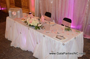 Maryland Wedding & Event Table Draping Rentals