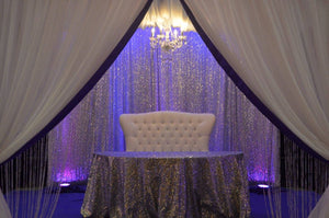 Severn, Maryland Fabric Mandap Rental Chuppah Wedding Design Decor