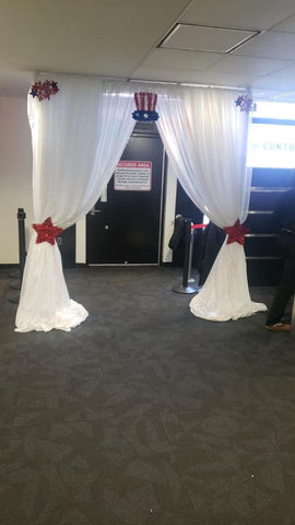 Entrance Arch Draping Rental Severn MD