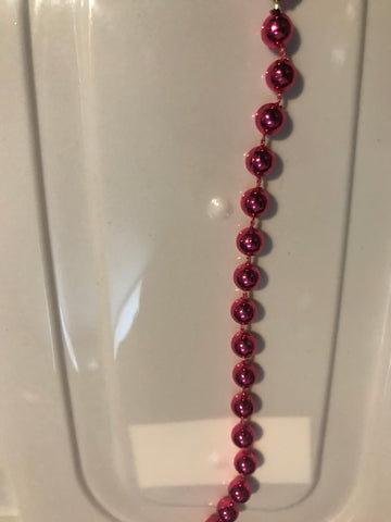 Fuchsia Bead Accent 15'