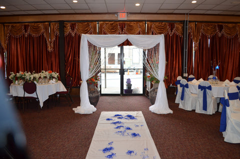 1st birthday hindhi indian birthday entrance arch rental severn md