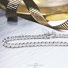 Load image into Gallery viewer, Diamond Tennis Bracelet BL016
