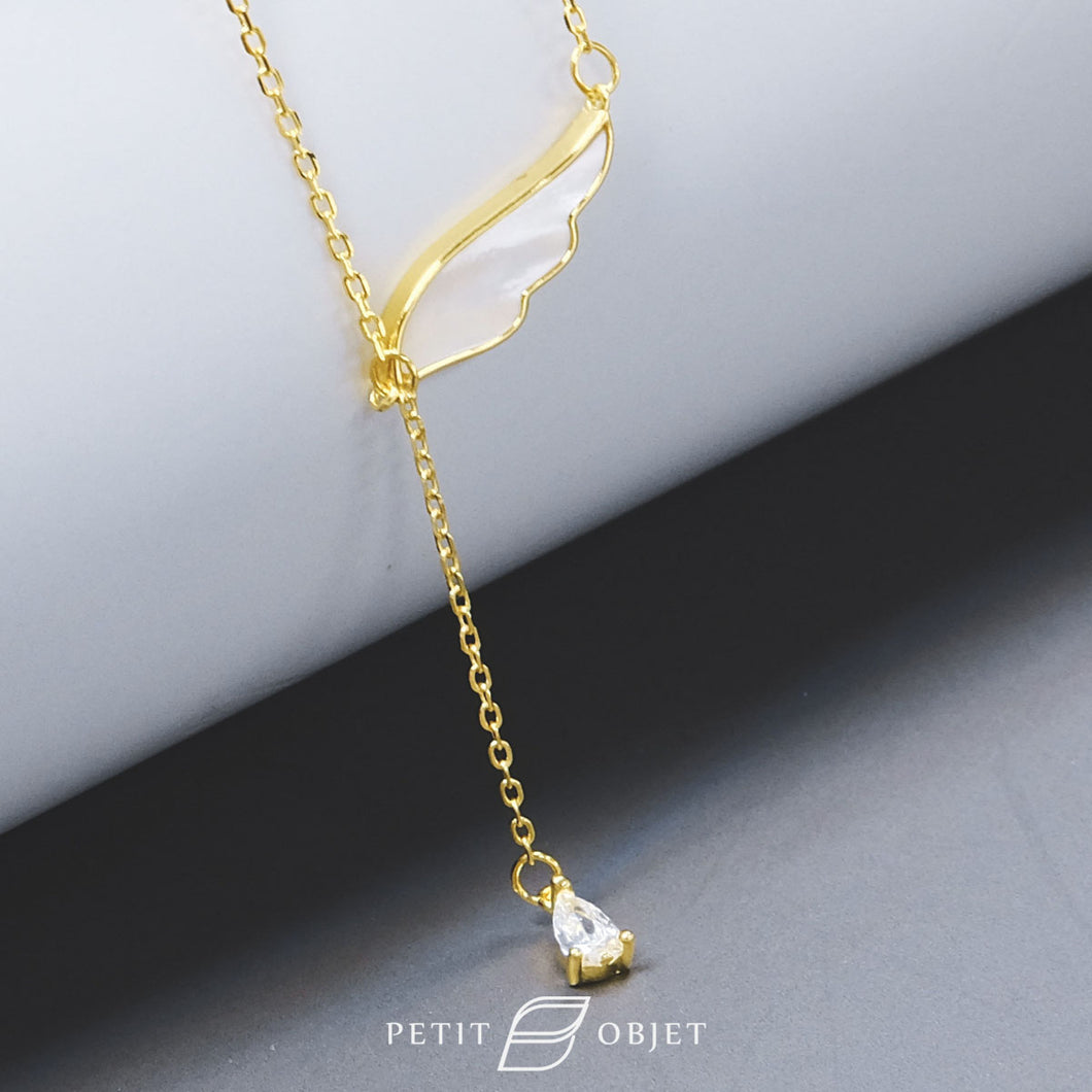 Angel Wing Necklace N035