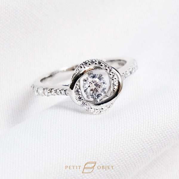Endless Dancing Love Ring R032