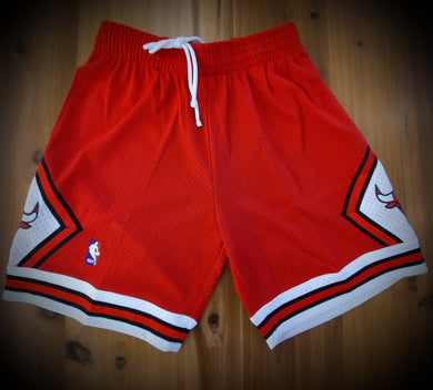 Chicago Bulls Mitchell&Ness Throwback Shorts