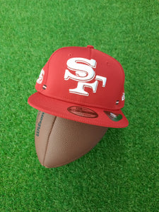 San Francisco 49ers New Era Snapback Flat