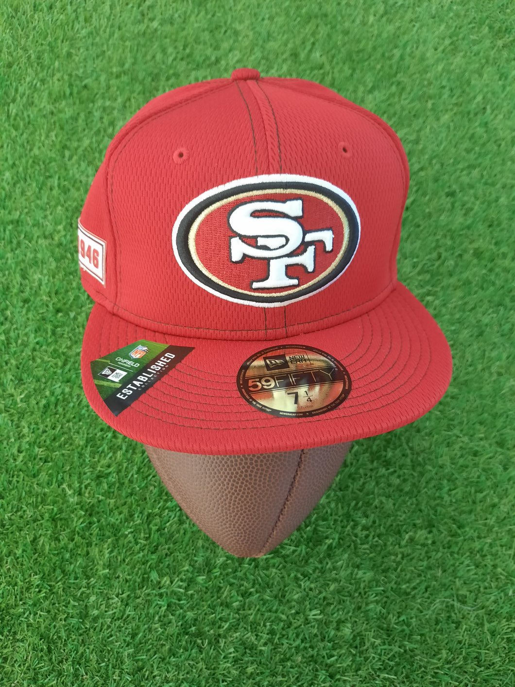 San Francisco 49ers New Era Flatcap 7 1/4