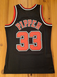 Chicago Bulls Scottie Pippen Mitchell&Ness 2.0 Jersey black