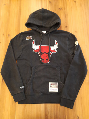 Chicago Bulls Mitchell&Ness Logo Hoody
