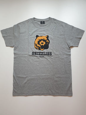 Grizzlies Football, Bern, T-Shirt grau