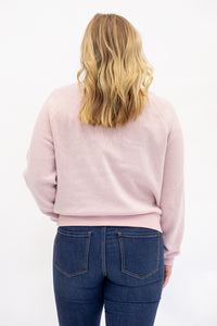 Be Still Cozy Cropped Sweatshirt