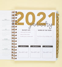Load image into Gallery viewer, 2021 Life + Style Weekly Planner: The Becca