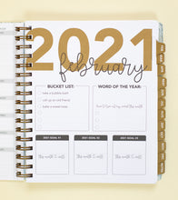 Load image into Gallery viewer, 2021 Life + Style Weekly Planner: The Cassidy