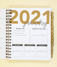 Load image into Gallery viewer, 2021 Life + Style Weekly Planner: The Claire