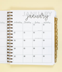 2021 Life + Style Weekly Planner: The Claire