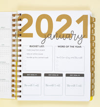 Load image into Gallery viewer, 2021 Life + Style Weekly Planner: The Erin