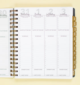 2021 Life + Style Weekly Planner: The Hannah