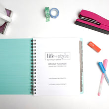 Load image into Gallery viewer, 2020 Life + Style Weekly Planner: The Steph
