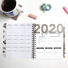 Load image into Gallery viewer, 2020 Life + Style Weekly Planner: The Erin