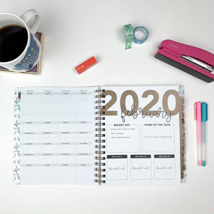 2020 Life + Style Weekly Planner: The Hannah