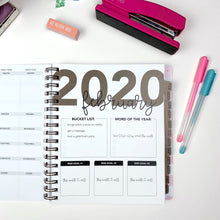 Load image into Gallery viewer, 2020 Life + Style Weekly Planner: The Claire