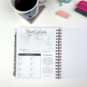 2020 Life + Style Weekly Planner: The Claire