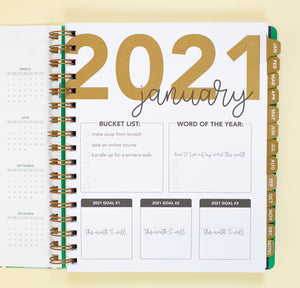 2021 Life + Style Weekly Planner: The Lauren