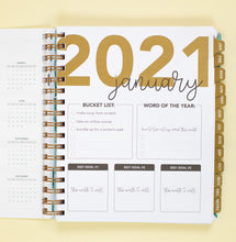Load image into Gallery viewer, 2021 Life + Style Weekly Planner: The Steph