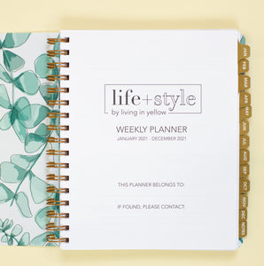 2021 Life + Style Weekly Planner: The Steph