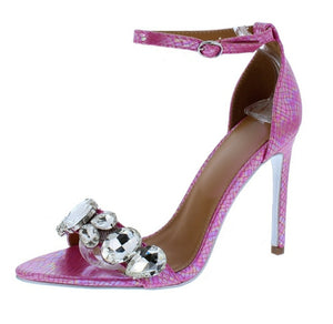 Open image in slideshow, Pink Royalty Heels