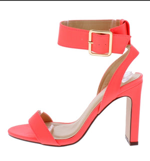 Open image in slideshow, Pink Coral Heel