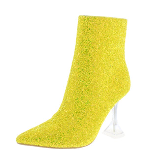 Open image in slideshow, Canary Yellow Booties