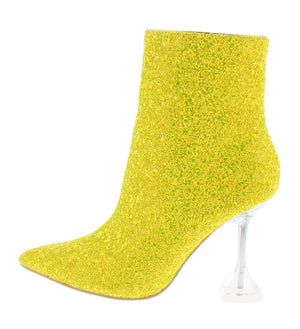 Canary Yellow Booties