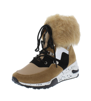Furreal Nude Sneaker Boots