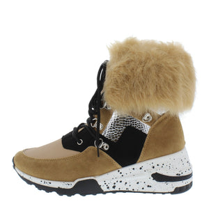 Open image in slideshow, Furreal Nude Sneaker Boots