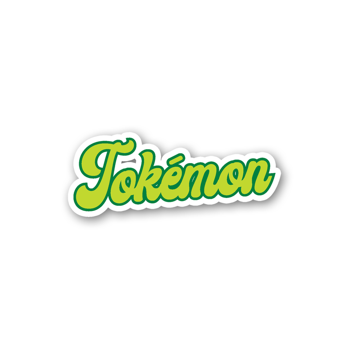 Tokémon Sticker | Weed Sticker, Cannabis, Gift For Stoners, Weed Smokers, Gamers, Marijuana, Hash, Pot