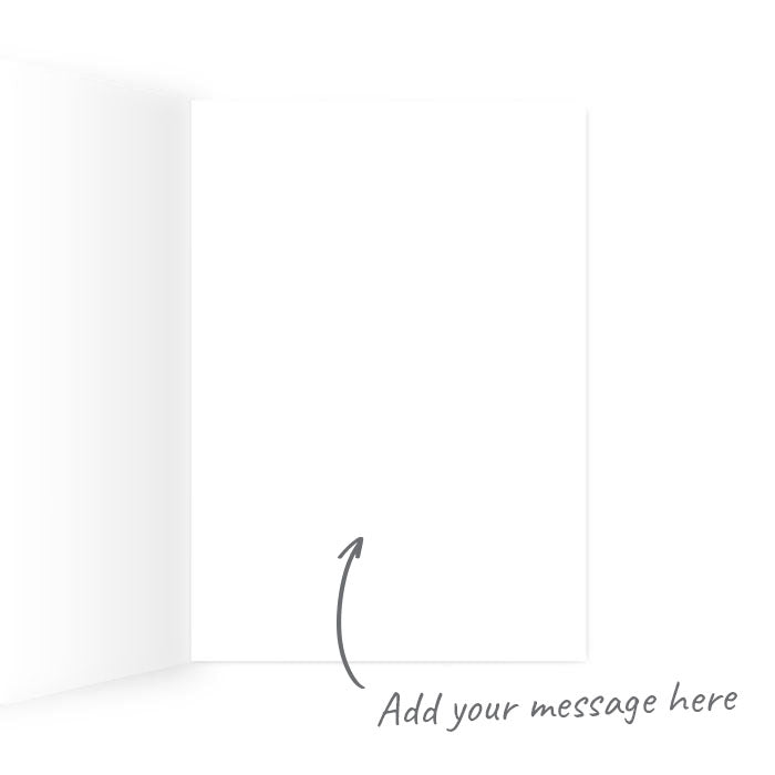 Thank You For Being My Unpaid Therapist Greeting Card | Deadpan, Funny Thank You Card For Friend, Parent, Partner