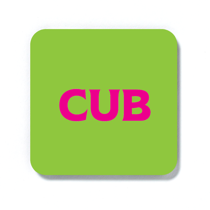 Cub Coaster | LGBTQ+ Gifts, LGBT Gifts, Gifts For Gay Men, Drinks Mat, Pop Art