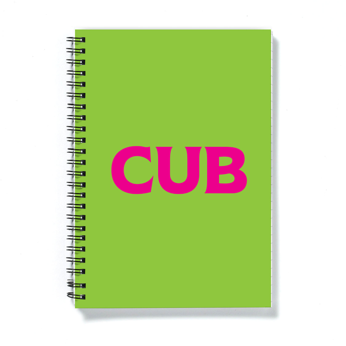 Cub A5 Notebook | LGBTQ+ Gifts, LGBT Gifts, Gifts For Gay Men