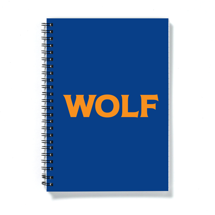 Wolf A5 Notebook | LGBTQ+ Gifts, LGBT Gifts, Gifts For Gay Men