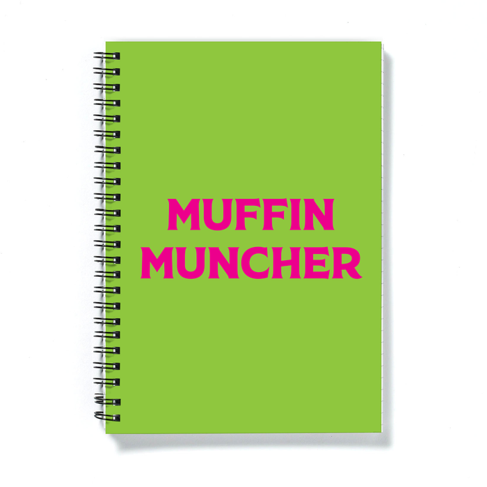 Muffin Muncher A5 Notebook | LGBTQ+ Gifts, LGBT Gifts, Gifts For Lesbians
