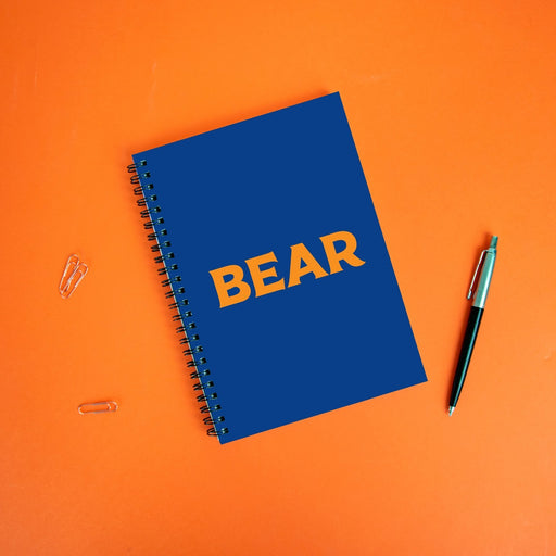 Bear A5 Notebook | LGBTQ+ Gifts, LGBT Gifts, Gifts For Gay Men, Journal, Pop Art
