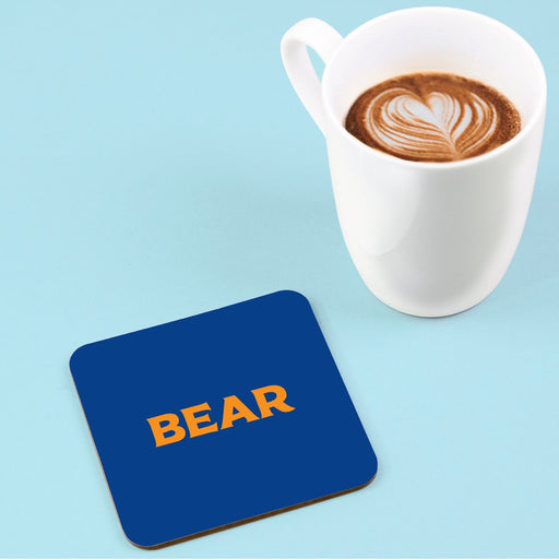 Bear Coaster | LGBTQ+ Gifts, LGBT Gifts, Gifts For Gay Men