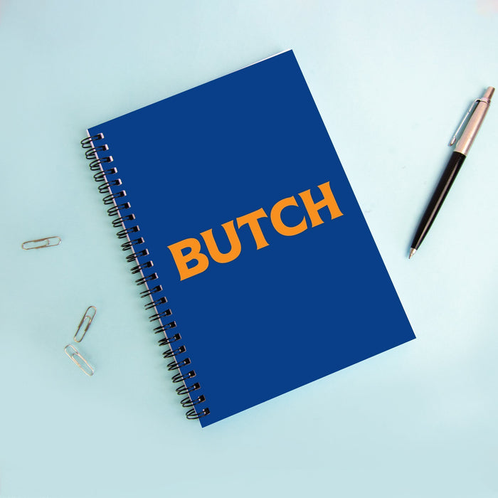 Butch A5 Notebook | LGBTQ+ Gifts, LGBT Gifts, Gifts For Lesbians, Journal, Pop Art