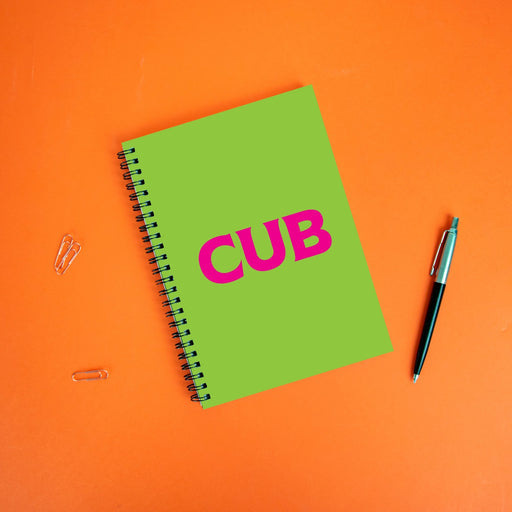 Cub A5 Notebook | LGBTQ+ Gifts, LGBT Gifts, Gifts For Gay Men, Journal, Pop Art