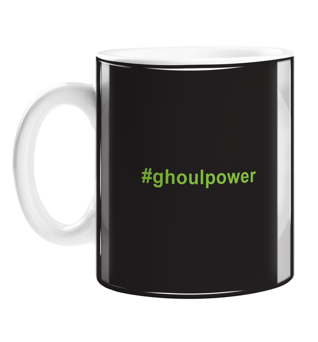 #ghoulpower Mug | Girl Power Pun, Halloween Gift, Ghosts, Ghoulies, Hashtag, Spooky